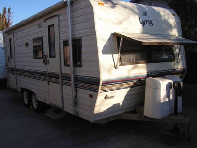 2 950 1989 Prowler 22 Travel Trailer 2 Door In Great Cond For Sale In Las Vegas Nevada