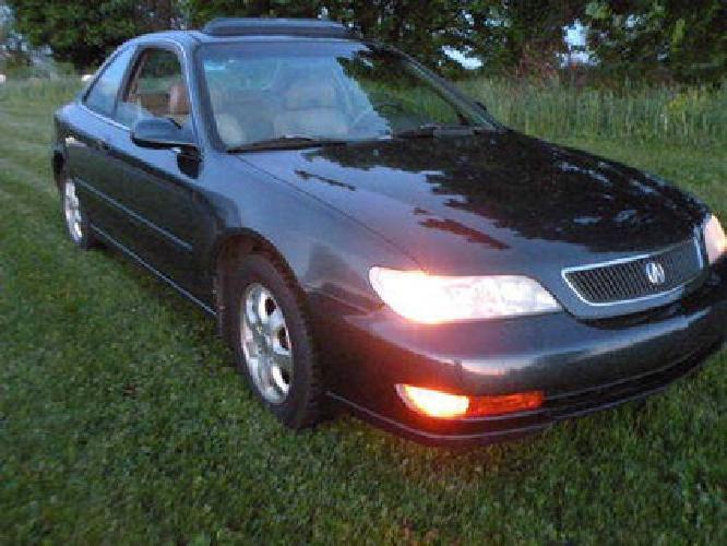 $2,950 1999 Acura 2.3 CL, 5 spd.. 30 mpg. runs great