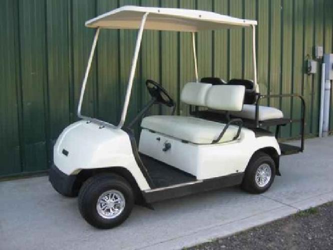 $2,950 2002 YAMAHA GAS POWERED GOLF CART G16A $2,950, WHITE, Adult on semi golf cart, ford golf cart, world's tallest golf cart, dodge golf cart, antique looking golf cart, honda golf cart, disney golf cart, viper golf cart, 14 passenger golf cart, fire department golf cart, 4x4 golf cart, black golf cart, 2002 club cart, world's fastest golf cart, solorider golf cart, 6 passenger golf cart, most expensive golf cart, ups golf cart, used gem golf cart, best gas powered golf cart,