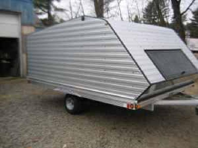 2 995 12 39 aluminum clamshell snowmobile trailer for sale in portland maine classified