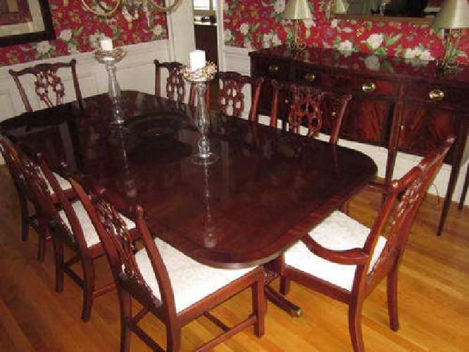 2 999 mahogany dining room set for sale in charlotte for Mahogany dining room