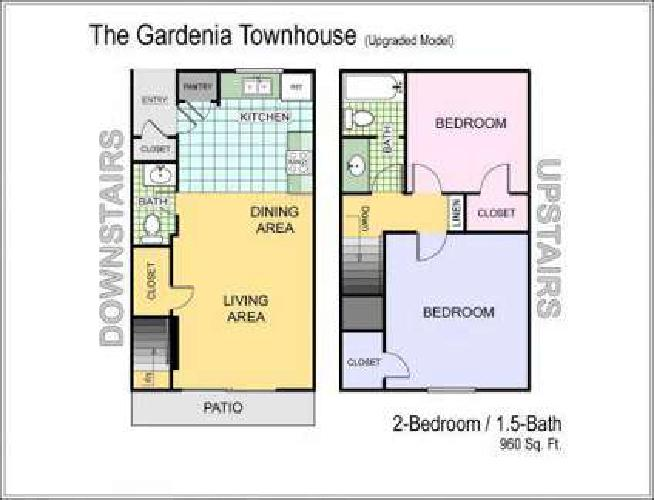 2 Beds - The Villas at Fair Oaks