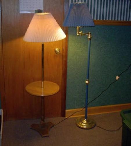 2* Lamps For Sale   Combo End Table Lamp U0026 Swivel Floor Lamp (Burbank