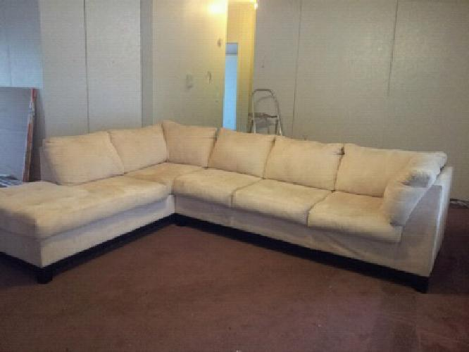 $300 2 piece L shape sectional sofa set