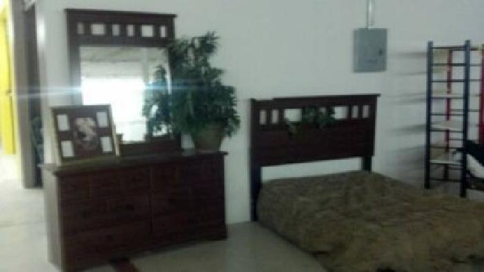 $300 ALMOST NEW Cherry Color Queen size Bedroom Set