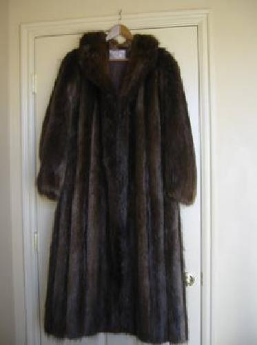 $300 Canadian full length Beaver Coat