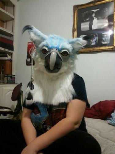 $300 Cosplay bird mask