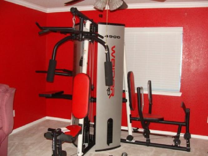 300 exercise equipment weider pro 4900 for sale in spring texas rh spring showmethead com Weider 4900 Review Weider Pro 4900 Owner's Manual