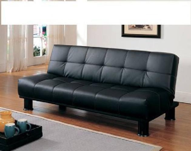 $300 Futon sofa sleeper set with 5pcs ottoman set new free delivery Brown for sale in Atlanta