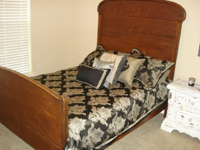 $300 OBO Antique Cherry Full Size Bed