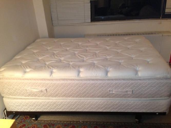 $300 OBO Full Bed set Mattress Box Spring and Metal