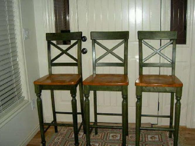 pier 1 bar stools $300 Pier1 Cambridge Barstools NEW (3) for sale in Meridian, Idaho  pier 1 bar stools