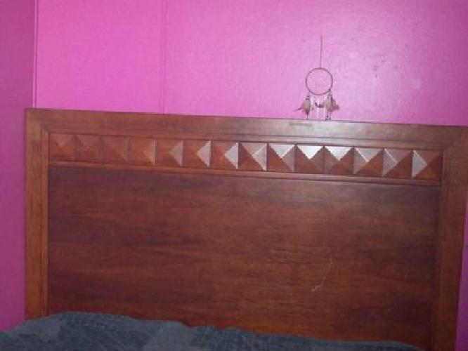 300 used cherry oak bed frame for sale in canton