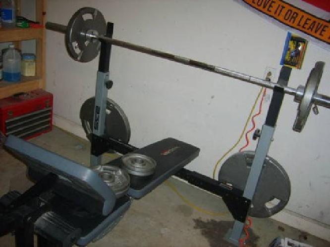 300 Weider 235 Weight Bench With 300 Lbs Vtx Olympic Weights For Sale In Frankfort Kentucky