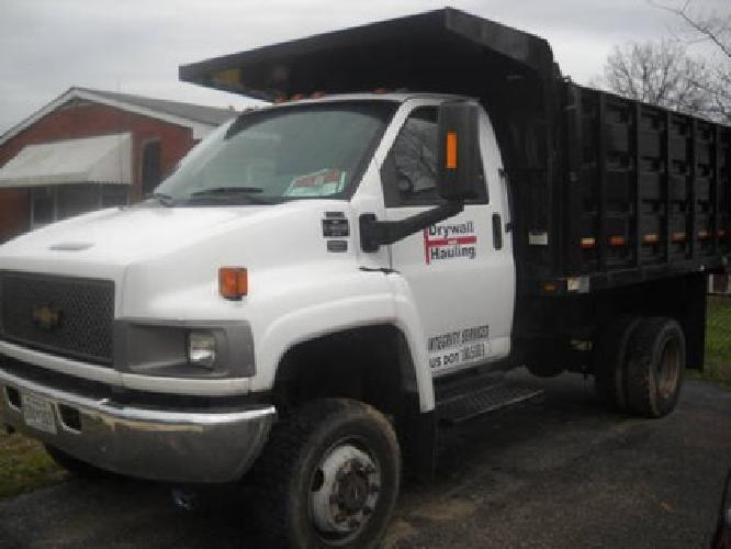 30,0002005 Chevy C4500 Medium Duty Dump Truck 4x4 Diesel in Glen ...