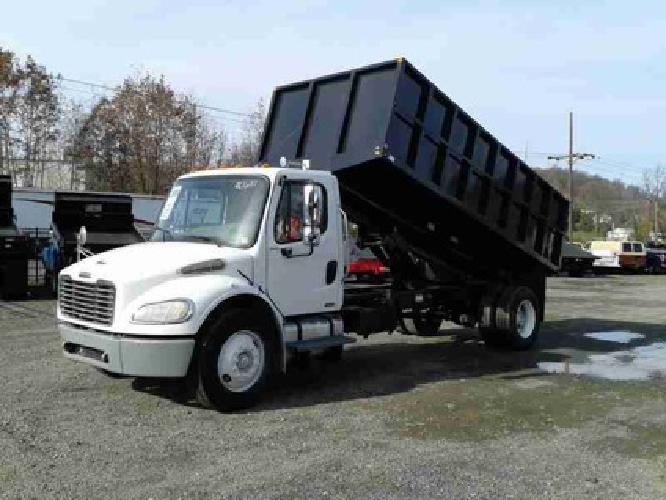$30,500 2006 Freightliner M2 Landscape Dump