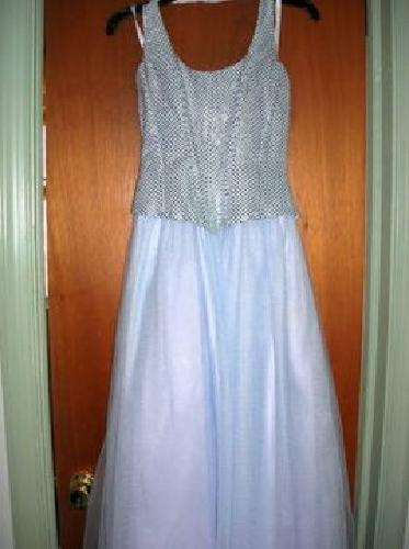 $30 Beautiful Cinderella Prom gown - worn once (of course!) Size 9/10