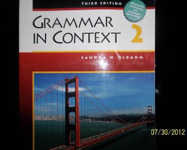 $30 Grammar In Context 2 (Third Edition)