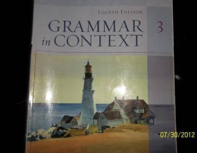$30 Grammar In Context 3 (Fourth Edition)