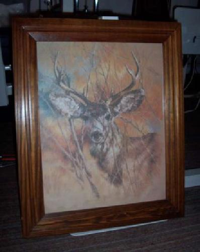 30 home interior deer pic for sale in nicktown vtg 1978 home interiors silent buck deer picture k maroon