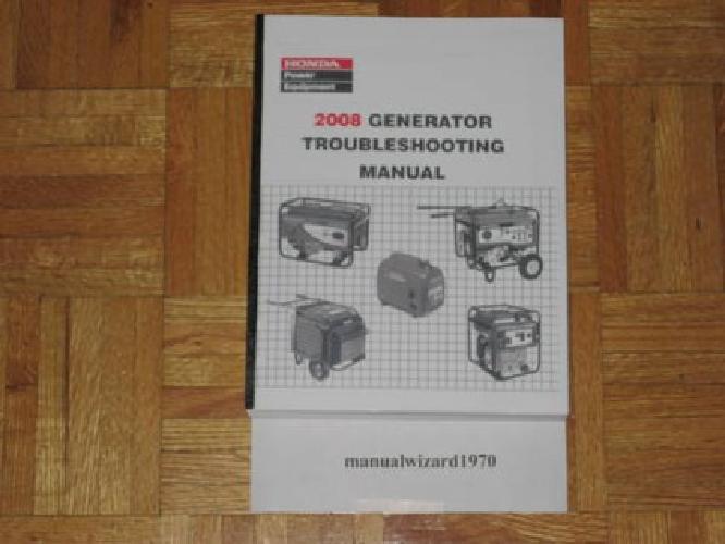 honda ex 1000 watt generator manual