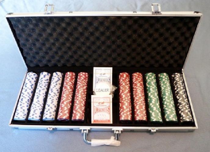 $30 New 500 Piece Poker Chip Set