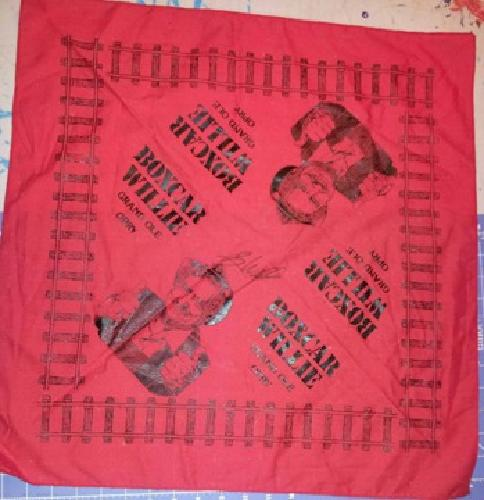 $30 OBO Boxcar Willie Autographed Handkerchief