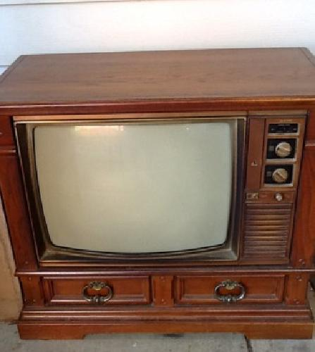 30 Obo Retro Vintage 25 Quot Ss All Wood Console Tv Planter