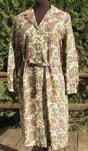 $30 paisley dress, Arthur Original