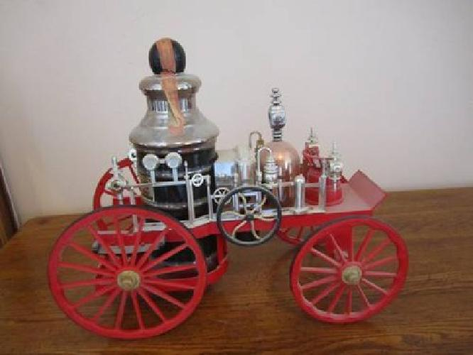 30 Vintage Jim Beam Fire Truck Decanter For Sale In