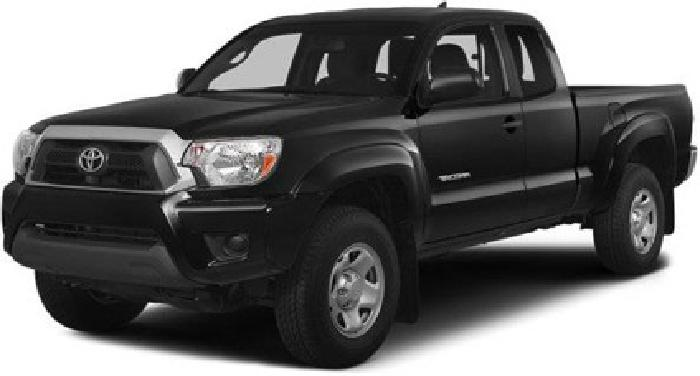 $31,480 2014 Toyota Tacoma 4WD Access Cab V6 MT