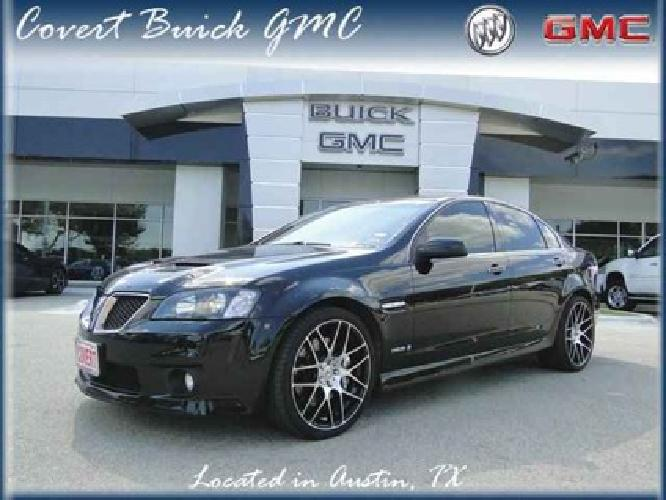 31 988 2009 pontiac g8 gxp for sale in austin texas classified. Black Bedroom Furniture Sets. Home Design Ideas