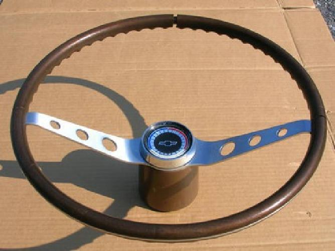 $325 65 66 Chevy Corvair Corsa Spyder Wood Steering