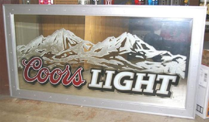325 coors light bar mirror for sale in daytona beach florida 325 coors light bar mirror aloadofball Image collections