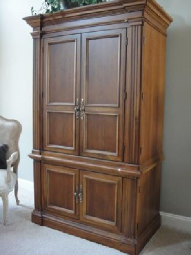 325 Obo Entertainment Armoire By Hooker For Sale In