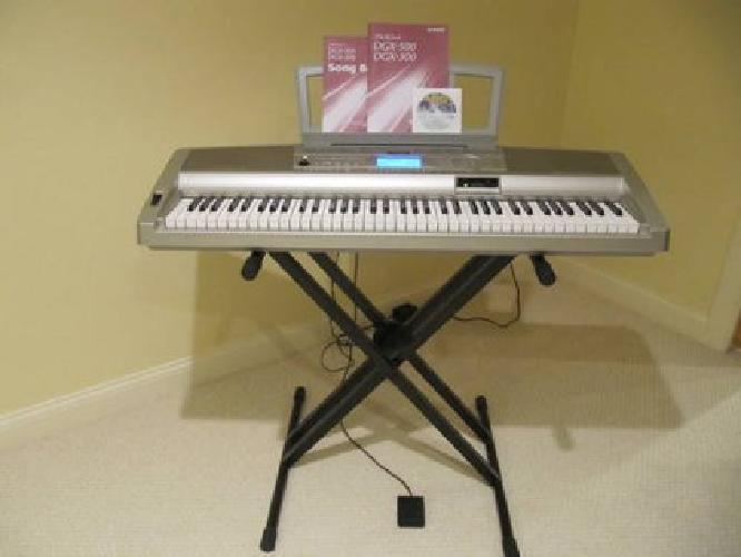 Yamaha Psr Portable Keyboard With Dynamic  Way Speakers