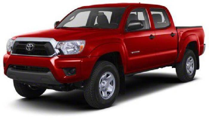 $32,005 2013 Toyota Tacoma 4WD Double Cab LB V6 AT
