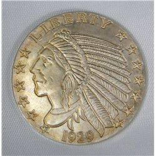 $32.50 1 Troy Ounce .999 Pure Silver '1929 Indian Head'
