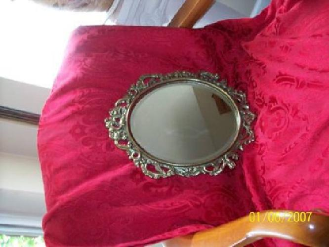 $32 Antique Victorian Ornate Beveled Vanity Mirror--Reduced to $ 32.00 !!