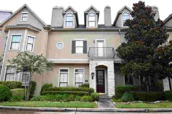 3318 Crosspark Place Houston Three BR, Wonderful custom townhome