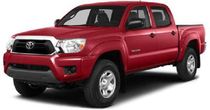 $33,338 2014 Toyota Tacoma 4WD Double Cab V6 AT