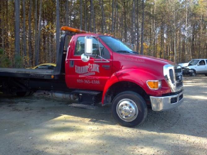 34 000 obo 2008 ford f 650 rollback for sale in wendell north carolina classified. Black Bedroom Furniture Sets. Home Design Ideas