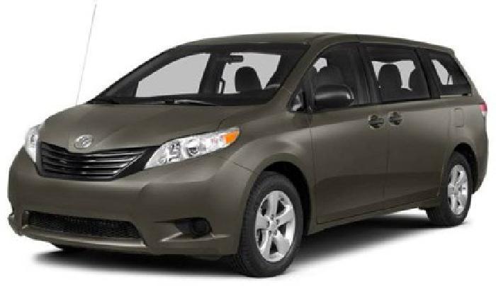 $34,424 2014 Toyota Sienna 5dr 7-Pass Van V6 LE AWD