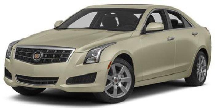 $34,440 2014 Cadillac ATS Standard RWD
