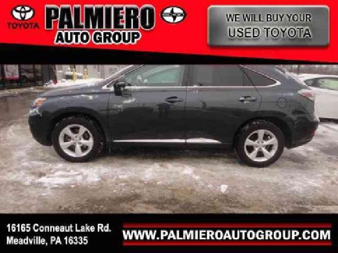 $34,499 2010 Lexus RX 350 350