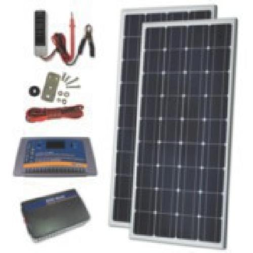 $350 170w solar panel system for sailboats