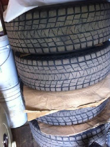 $350 4 Toyota 4Runner OEM Wheels with Blizzak Tires