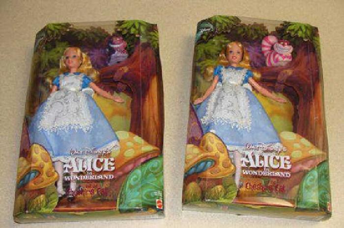 $350 Alice in Wonderland Collector Dolls