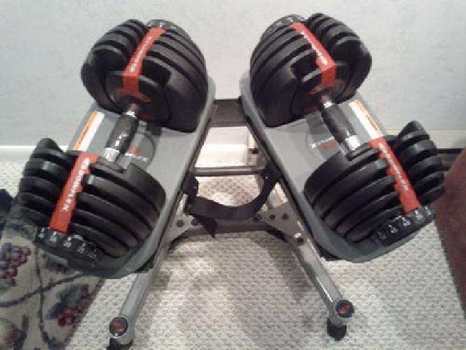 Selecttech 552 With Stand $350 Bowflex Selecttech 552