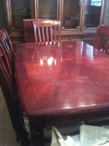 $350 cherrywood diningroom table